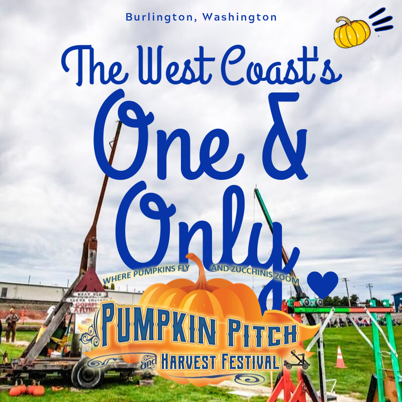 Skagit River Park, Burlington. The West Coast's One and Only Pumpkin Pitch