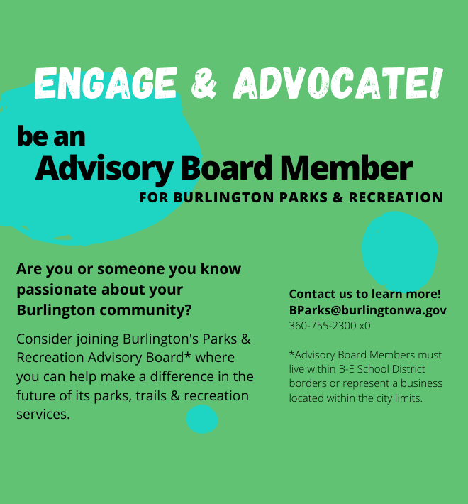 Parks Advisory Board Vacancy
